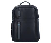 Pulse Rucksack Leder 43 cm Laptopfach