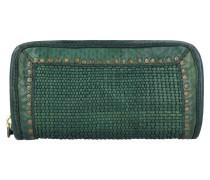 Geldbörse Leder 21 cm green bottle