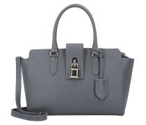 Borsa Handtasche Leder 31 cm dark grey