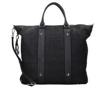 Capri Elka Shopper Tasche Leder 46 cm black