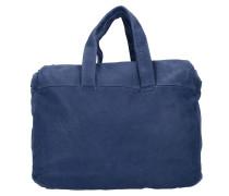 Yao Shopper Tasche Leder 41 cm indigo blue