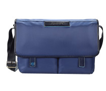 Celion Messenger Bag 39 cm Laptopfach blau