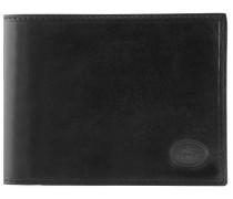 Story Uomo Geldbörse Leder 12,5 cm nero