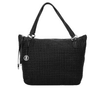 Hawaii Maylea Shopper Tasche Leder 34 cm black