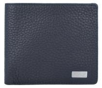 Origin Geldbörse Leder 11 cm schwarz