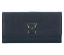 Isabella Geldbörse Leder 19 cm black