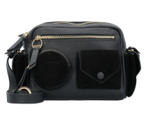 Casual Pocket Camera Bag M Umhängetasche Leder 25 cm