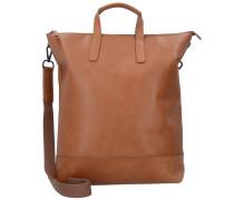 Futura X-Change 3in1 Bag S Rucksack Leder 40 cm Laptopfach cognac