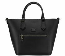 Candy Cadillac Handtasche Leder 22 cm nero