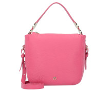 Roma Mini Bag Handtasche Leder 20 cm raspberry pink