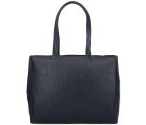 Qina 3 Shopper Tasche Leder 38 cm black