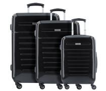 Panama 4-Rollen Kofferset 3tlg. schwarz