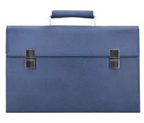 French Classic 3.0 Aktentasche Leder 43 cm blue