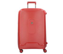 Moncey 4-Rollen Trolley 69 cm rot