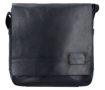 Connor Messenger Leder 31 cm Laptopfach black