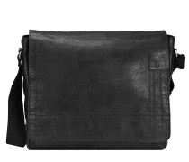 Upminster Messenger Leder 39 cm Laptopfach black