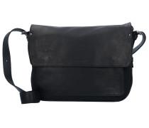 Ivy Lane Messenger Leder 37 cm Laptopfach schwarz