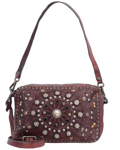 Authentische Online Gefälschte Online Campomaggi Damen Bauletto Mini Bag Schultertasche Leder 18 cm vinaccia Billige Ebay Verkauf Rabatte ELvVP2mn8