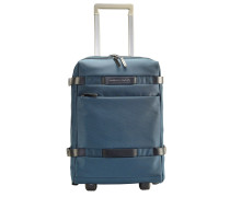 Move 2 2-Rollen Kabinentrolley 48 cm Laptopfach stahlblau