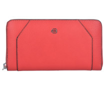 Muse Geldbörse RFID Leder 19 cm red