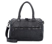 Diskus Handtasche Leder 32 cm