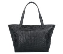 Soho Shopper Tasche Leder 38 cm oil black