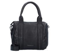 Blob Handtasche Leder 29 cm black