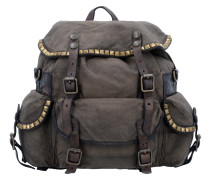 City Rucksack 32 cm military+stained grey