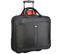Bellecour 2-Rollen Business Kabinentrolley 47 cm Laptopfach schwarz