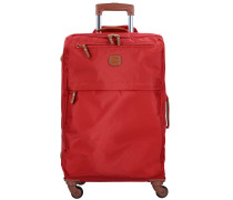 X-Travel 4-Rollen Trolley 77 cm rot
