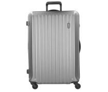 Riccione 4-Rollen Trolley 78 cm light silver