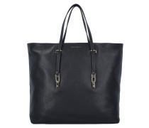 Iggy Shopper tasche Leder 35 cm nero
