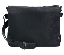 Pull Up Messenger Leder 36 cm midnight