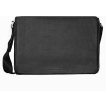 Cervo 2.0 ShoulderBag LFH Messenger Leder 41 cm Laptopfach black
