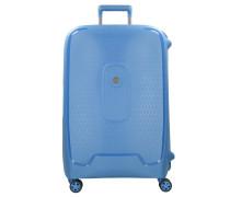 Moncey 4-Rollen Trolley 82 cm blau