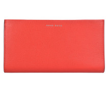 Taylor Geldbörse Leder 19,5 cm bright red