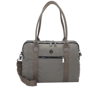 Basic Plus Neat Schultertasche 39 cm Laptopfach spark taupe