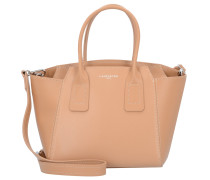 Stella Handtasche Leder 24 cm naturel
