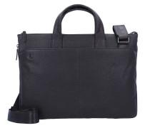 Black Square Aktentasche Leder 42 cm Laptopfach dunkelbraun