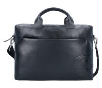 Jones Aktentasche Leder 38 cm Laptopfach black