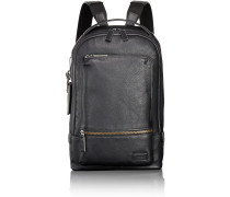 Harrison Winsor Rucksack Leder 40 cm black pebbled