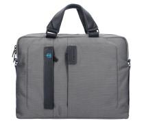P16 Laptoptasche 38 cm Laptopfach grey