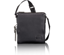 Harrison Scott Umhängetasche Leder 22 cm black pebbled