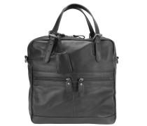 Sydney Handtasche Leder 32 cm schwarz