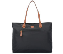 X-Travel Shopper Tasche 39 cm Laptopfach schwarz