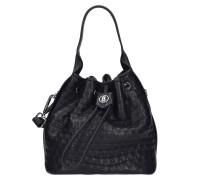 Soho Ava Beuteltasche Leder 17 cm black
