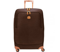 Life Trolley 4-Rollen 77 cm brown/tobac