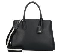 Adria Handtasche Leder 32 cm black/nickel