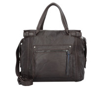 Virginia Schultertasche Leder 40 cm eagle brown