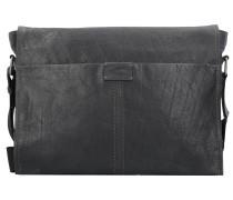 Ontario Messenger Leder 40 cm Laptopfach schwarz
